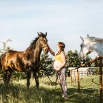 Foto 20 - Lucy Grossmann - Tehotenské fotky na ranči s koňmi